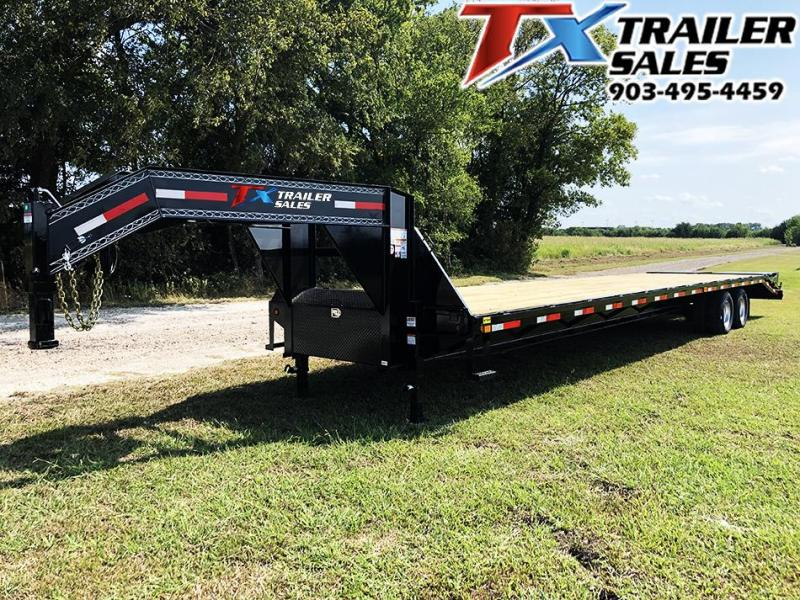 2021 East Texas 102'' X 40' GOOSENECK DECK OVER/HOT SHOT / Flatbed Trailer