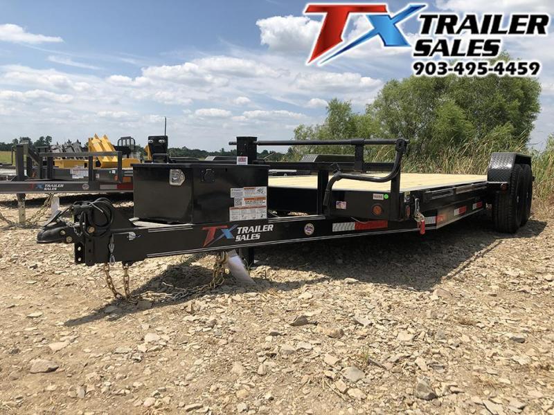 "2021 East Texas 83"" X 20' TILT DECK 14K CarHualer / Equipment Hualer"