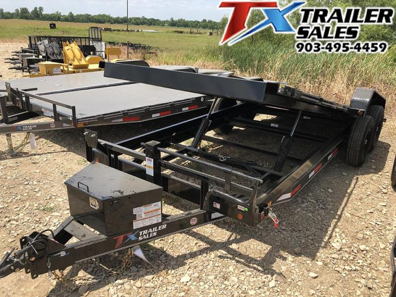 "2021 East Texas 83"" X 20' TILT DECK 14K CarHualer / Equipment Hualer"