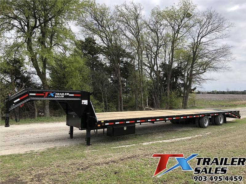 2021 East Texas 40k Gooseneck Flatbed Trailer