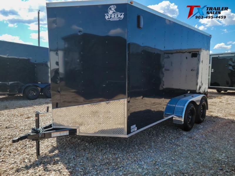 2021 T-Rex Trailers 7' X 14' X 78'' T-REX ENCLOSED CARGO 7k Enclosed Cargo Trailer
