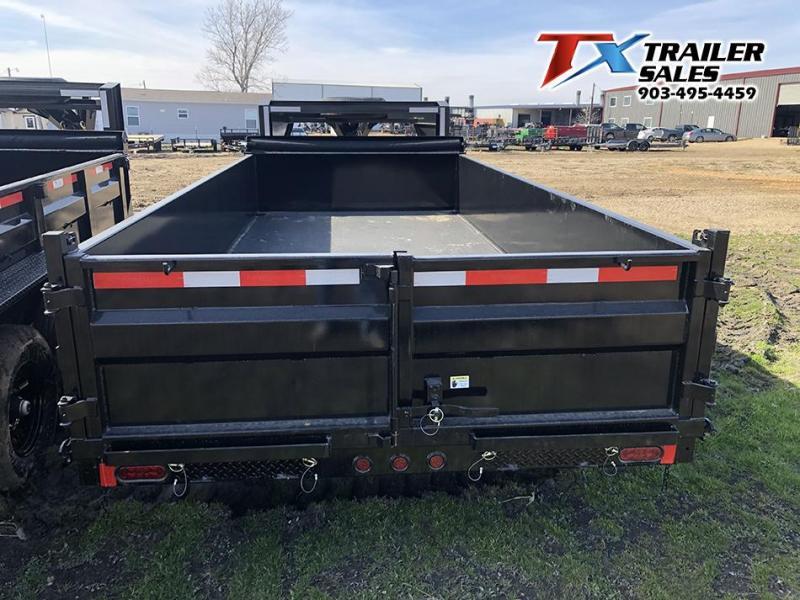 2021 East Texas 83' X 16' X 2' Gooseneck Dump Trailer
