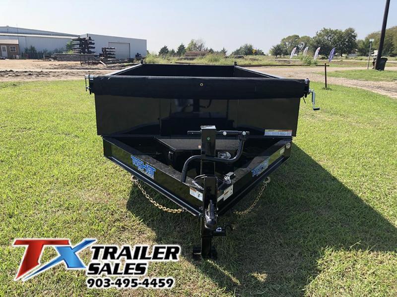 2021 Top Hat Trailers Bumper Pull Dump Trailer 14k