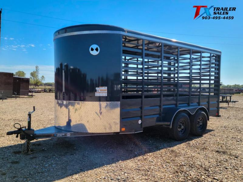 "2022 East Texas 80"" X 16' BP 12K LIVESTOCK TRAILERS Livestock Trailer"