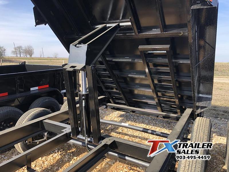 2021 East Texas 83'' X 14' X 3' Bumper Pull Dump Trailer