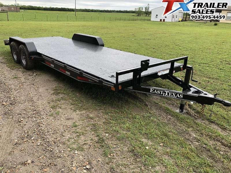 2021 East Texas 83 X 22 CAR HAULER/EQUIPMENT 12K Car / Racing Trailer