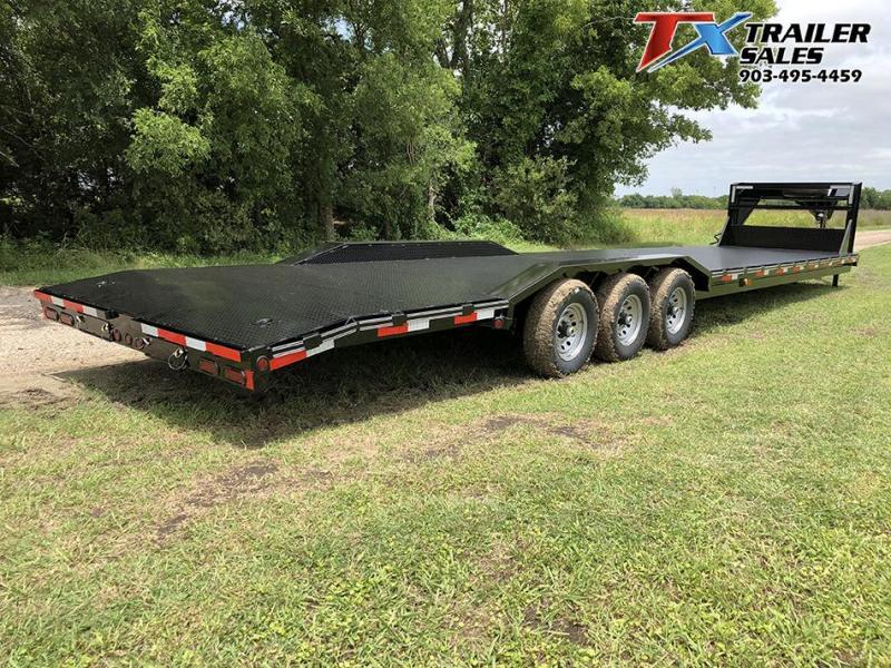 "2021 East Texas 102"" X 40' GN LOW BOY CARHAULER/EQUIPMENT 21K Equipment Trailer"