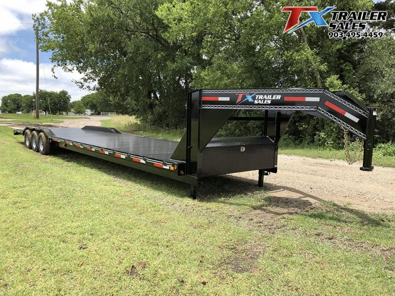 "2021 East Texas 102"" X 40' GN LOW BOY CARHAULER/EQUIPMENT 21K Equipment Trailer"