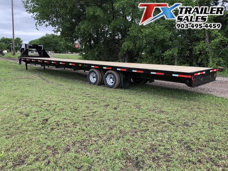 2021 East Texas 102 X 40 GOOSENECK HD DECK OVER 20K W/UNDER FRAME BRID Flatbed Trailer