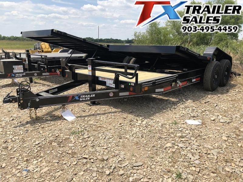 "2021 East Texas 83"" X 20' TILT DECK 14K Car Hauler / Equipment Hauler"