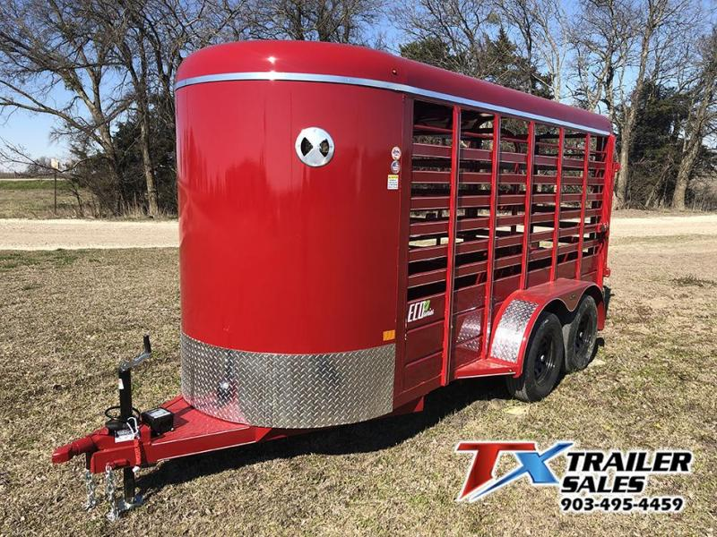 2021 East Texas Trailers 14' x 5' Eco Series BP Livestock Trailer