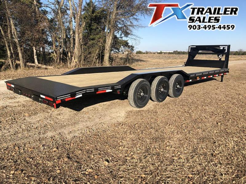 "2021 East Texas 102"" X 32' GN LOW BOY CARHAULER/ EQUIPMENT 21K Equipment Trailer"