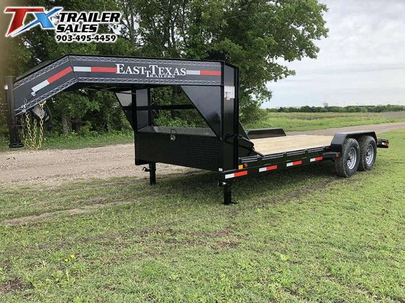 2021 East Texas 83 X 20 GN LOW BOY EQUIPMENT 14K Car / Racing Trailer