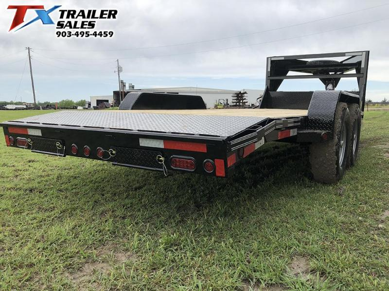 2019 East Texas 83 X 20 GN LOW BOY EQUIPMENT 14K Car / Racing Trailer