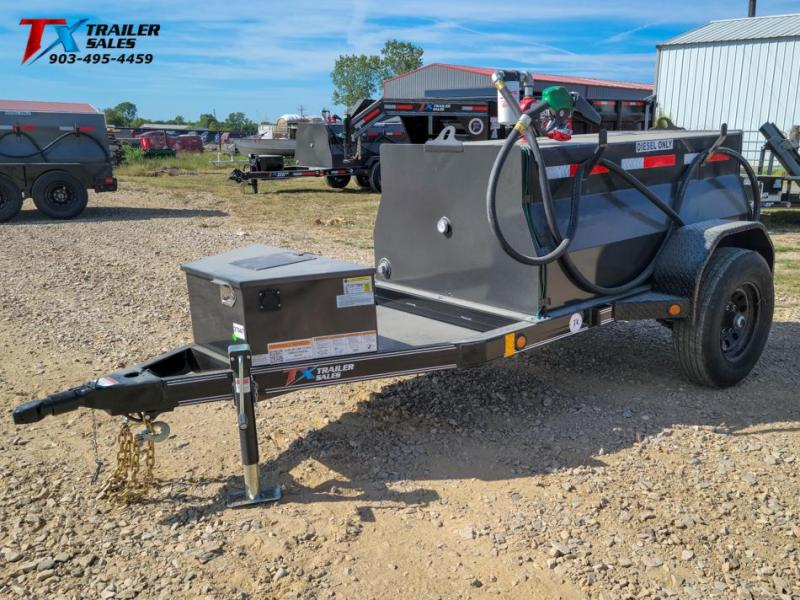 2022 East Texas 4' X 6' DIESEL TANK TRAILER WITH 300 GAL TANK 5K Tank Trailer