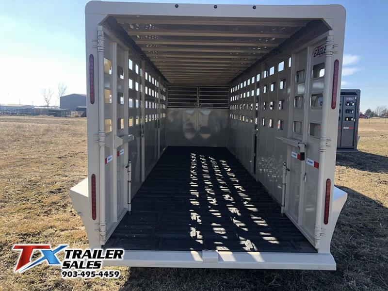 2021 Maxxim Industries 6.8 X 24' Livestock Trailer