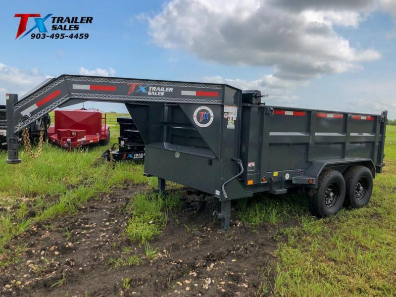 "2021 East Texas 83"" X 12' GN DUMP 14K Dump Trailer"