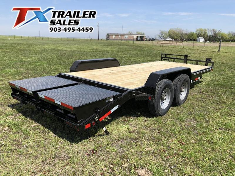 "2021 East Texas 83"" X 20' CAR HAULER 14K Equipment Trailer"