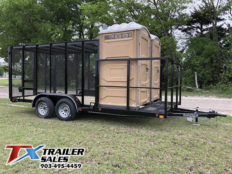 2021 East Texas 83 X 18 TRASH TRAILER 7K