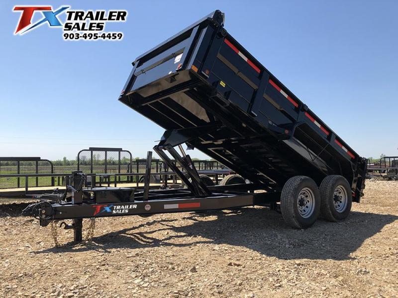 2021 83'' x 14' LOW PRO DUMP 14K Dump Trailer
