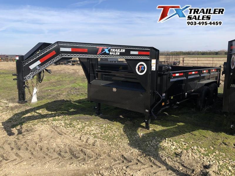 2021 East Texas 83' X 14' X 2' Gooseneck Dump Trailer