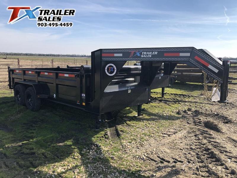 2021 East Texas 83' X 14' X 2' Gooseneck Dump Trailer