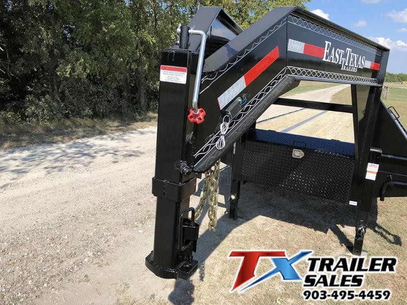 2021 East Texas 102 X 38 GN HD DECK OVER/HOT SHOT 30K Flatbed Trailer