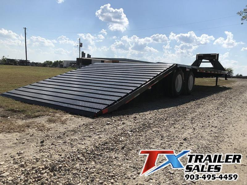 2021 East Texas 102 X 38 GN HD DECK OVER/HOT SHOT 30K Flatbed Trailer