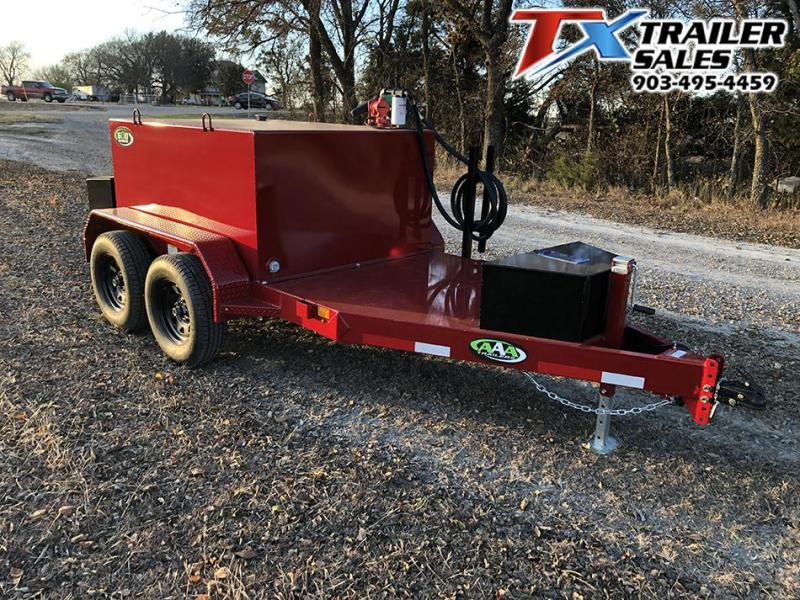 2021 East Texas 60 x 10 600 Gal Fuel Tank Trailer