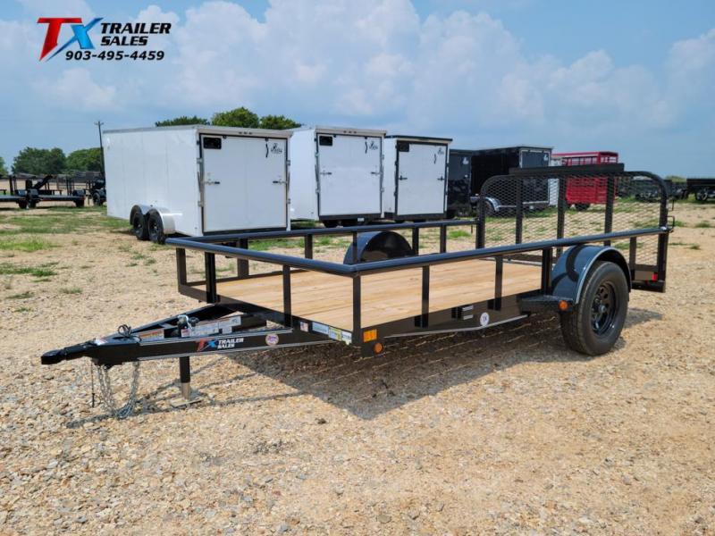 "2022 East Texas 77"" X 12' SINGLE AXLE 3K Utility Trailer"