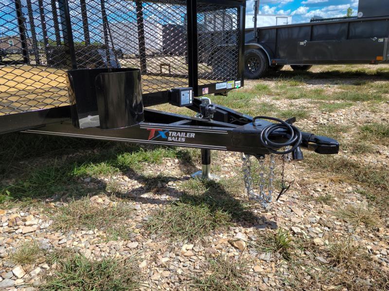 "2022 East Texas 83"" X 16' LANDSCAPE 7K Landscape Trailer"