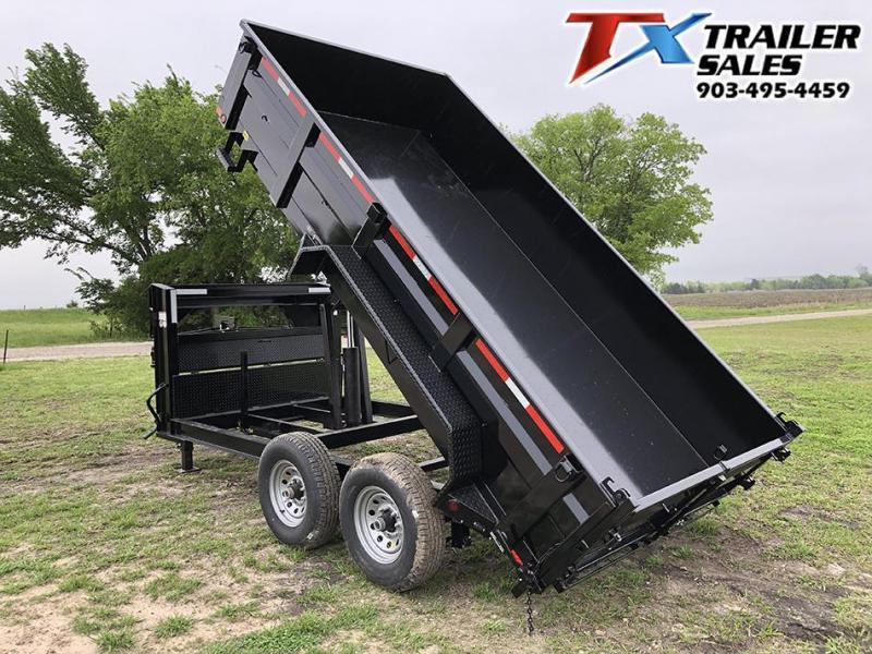 2021 East Texas 83 X 14 GOOSENECK LOW PRO DUMP 14K (7.1 CU. YARD) Dump Trailer