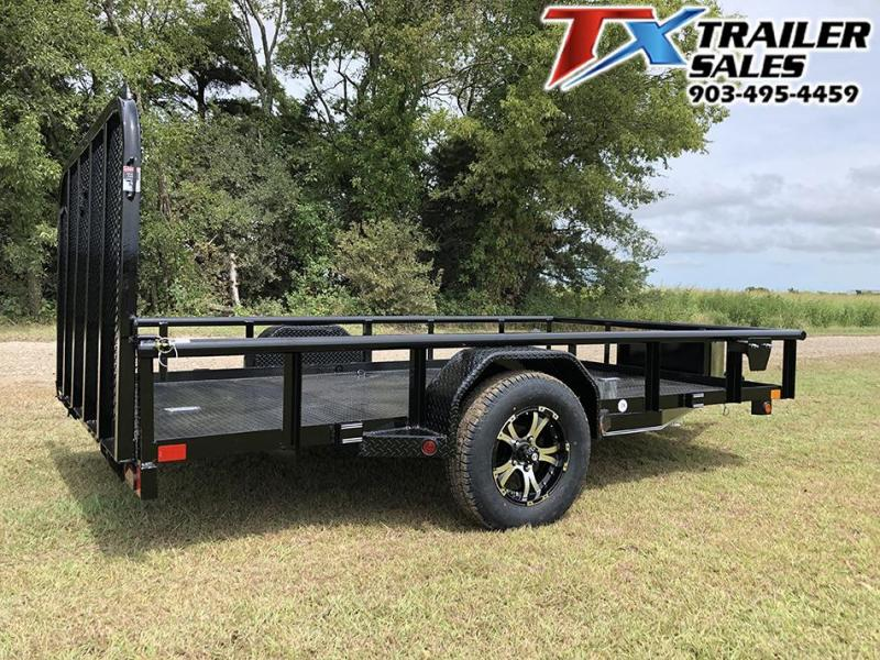 2021 East Texas 83 X 12 SINGLE AXLE UTILITY 3K Utility Trailer