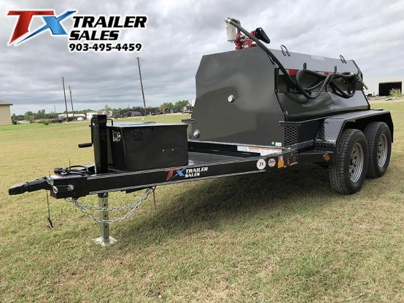 2021 East Texas 5 X 8 DIESEL TANK TRAILER WITH 600 GAL TANK 7K Tank Trailer