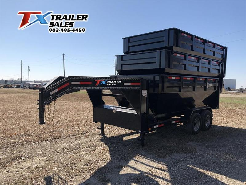 2021 East Texas 83'' X 14' ROLL OFF Dump Trailer