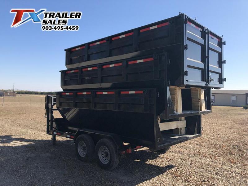 2021 East Texas 83'' X 14' ROLL OFF Dump Trailer