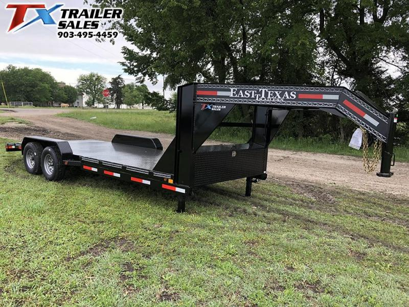 2021 East Texas 83 X 20 GOOSENECK CAR HAULER 12K Car / Racing Trailer