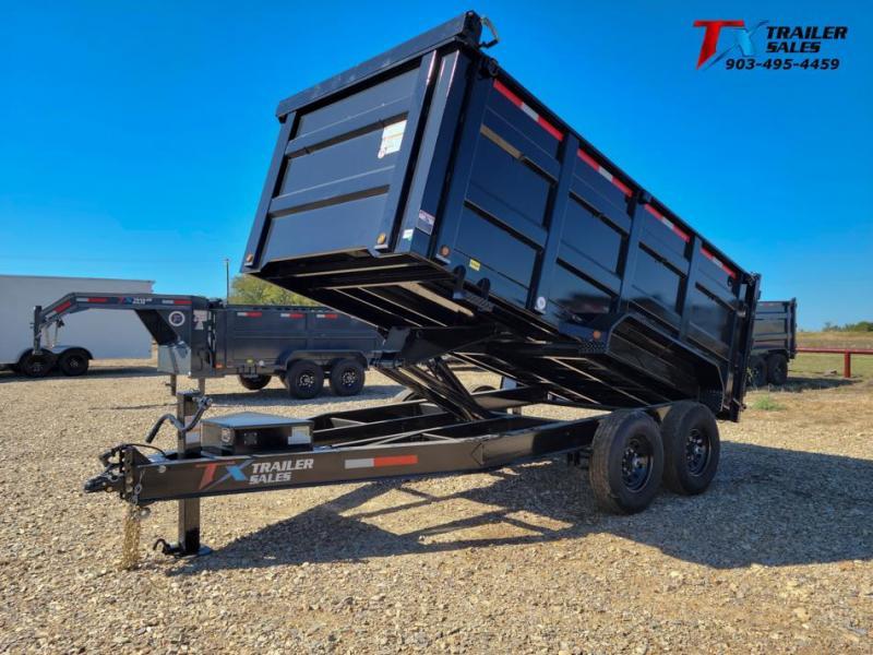 "2022 East Texas 83"" X 14' BP DUMP 14K Dump Trailer"