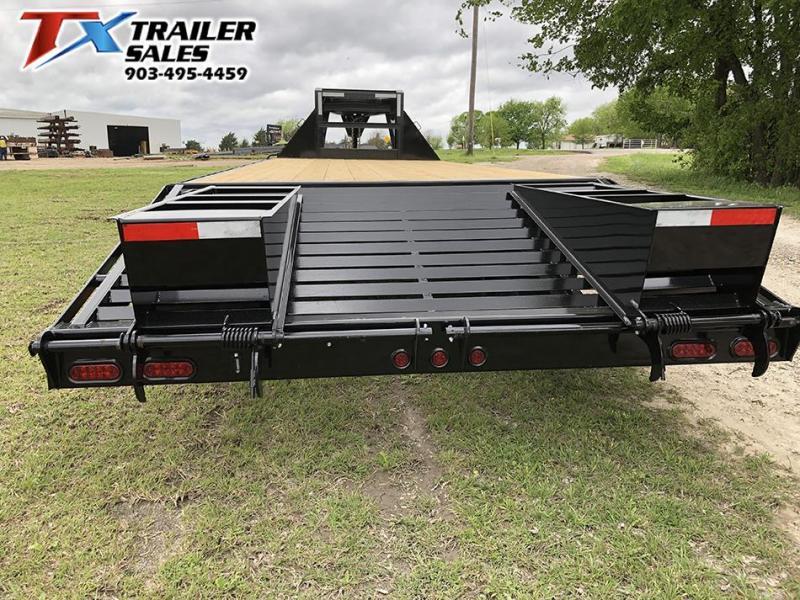 2021 East Texas 102 X 25 GOOSENECK HD DECK OVER 20K Flatbed Trailer