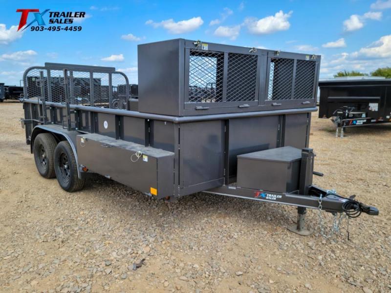 "2022 East Texas 83"" X 14' LANDSCAPE 7K Utility Trailer"