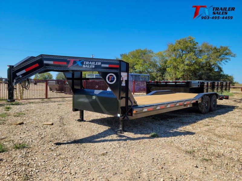"2022 East Texas 102"" X 28' GN LOW BOY EQUIPMENT 14K Equipment Trailer"