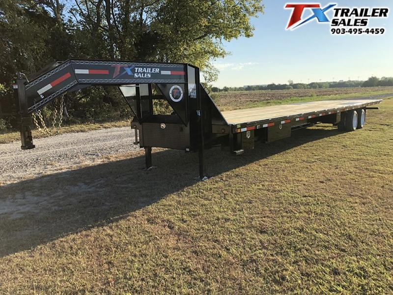 2020 East Texas 102 X 35 GN DECK OVER TILT 30K Flatbed Trailer