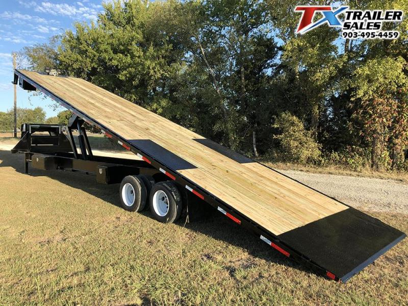 2021 East Texas 102 X 35 GN DECK OVER TILT 30K Flatbed Trailer
