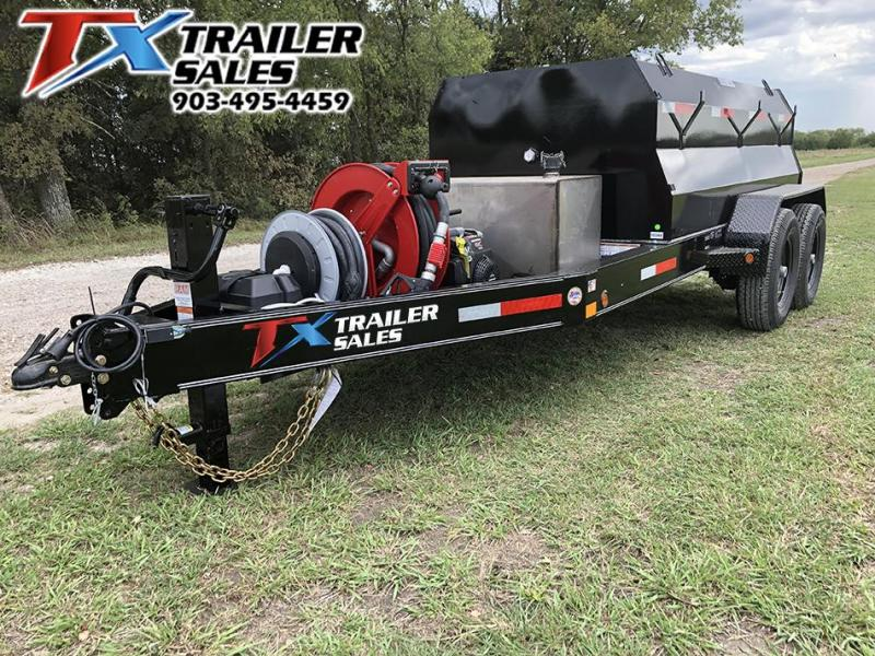 2021 East Texas 5 X 10 DIESEL TANK TRAILER WITH 990 GAL TANK 14 Tank Trailer
