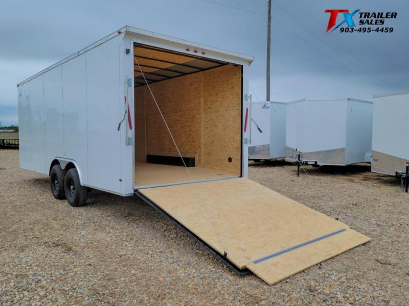 2021 T-Rex Trailers 8.5' X 18' X 84'' T-REX ENCLOSED CARGO 10k Enclosed Cargo Trailer