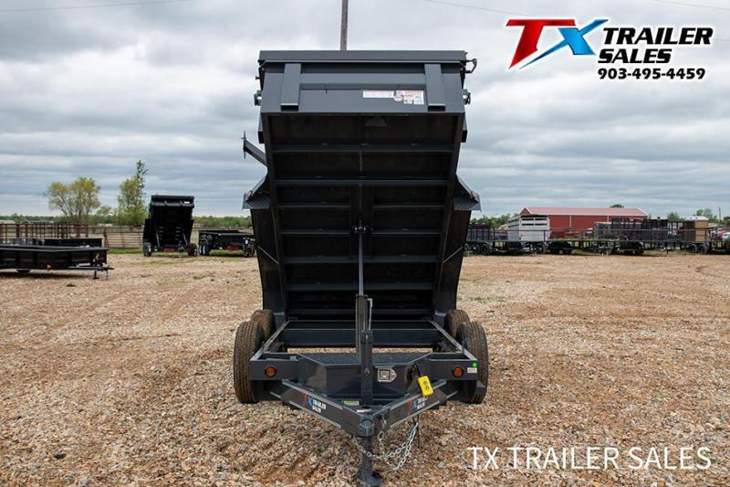 "2021 East Texas 60"" X 10' BP DUMP 7K (2.7 CU. YARD) Dump"