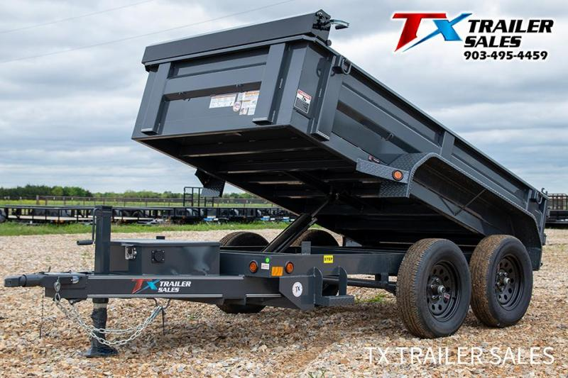 "2021 East Texas 60"" X 10' BP DUMP 7K (2.7 CU. YARD) Dump"