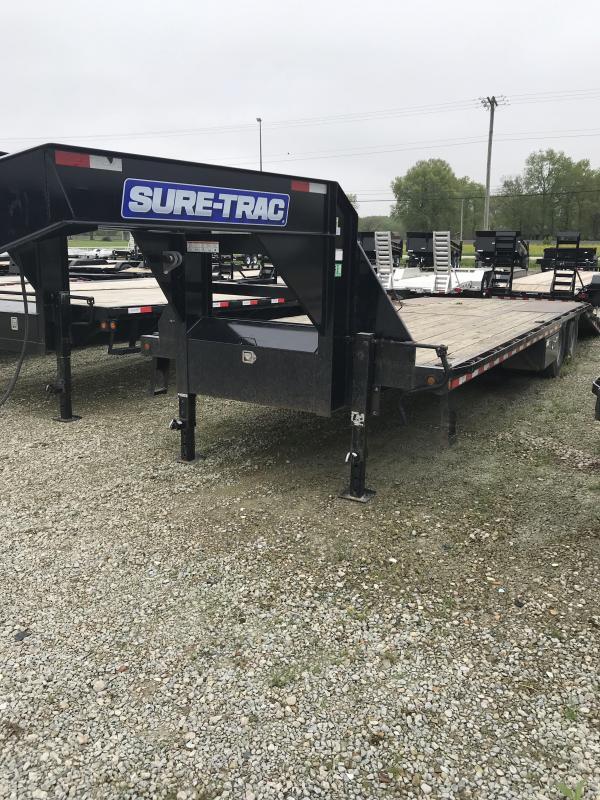 2016 Sure-Trac 85x2210 Gooseneck Equipment Trailer
