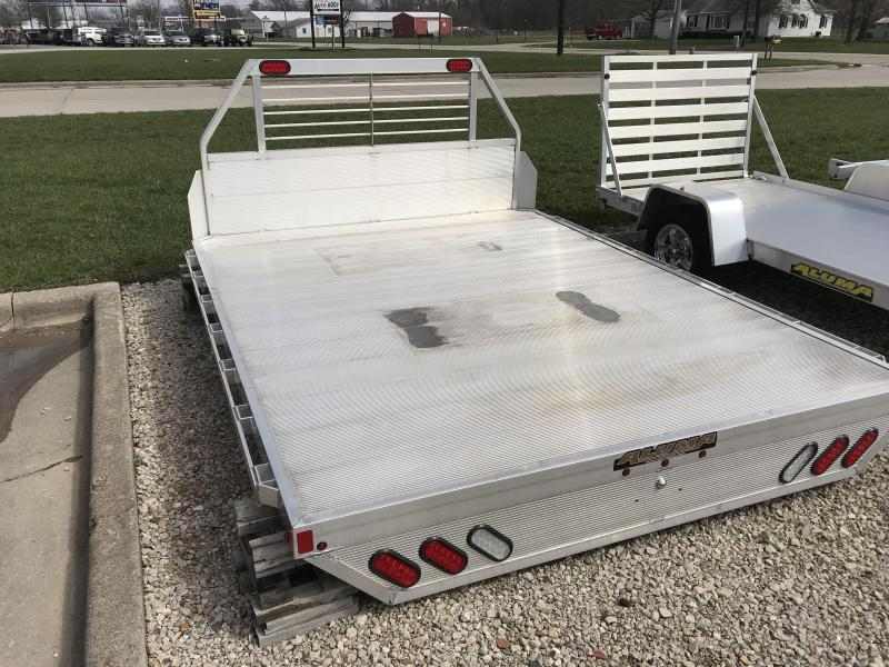"Aluma 96""x125"" Truck Bed w/ Headache Rack"