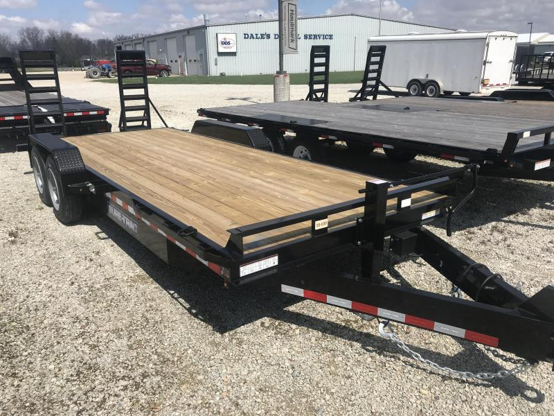 2020 Sure-Trac ST8120ET-B-160 Equipment Trailer